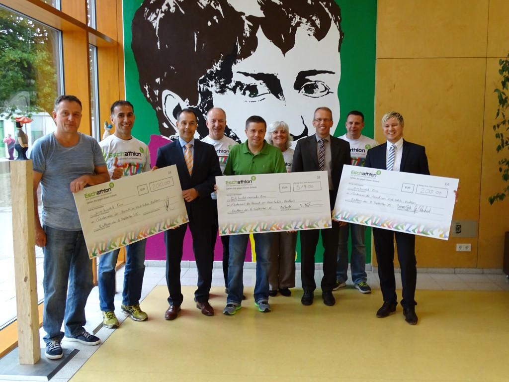 Förderverein der Heinrich-von-Kleist-Schule freut sich über 3 Spenden in 2015
