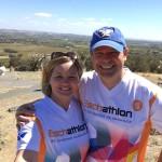 Zwei Eschathlon-Shirts quer durch Australien