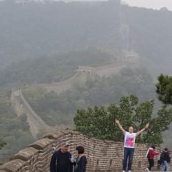...auch die Chinesische Mauer kann den Eschathlon nicht aufhalten ;-)