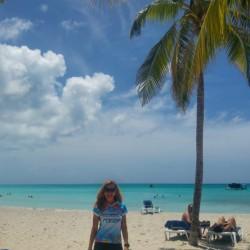Welches ist das schönste Blau? Urlaubsgrüsse aus Varadero, Kuba