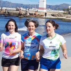 Zu dritt läufts besser - hier in Can Picafort auf Mallorca