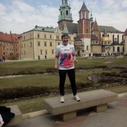 Unterwegs in Polen - Eschathlon-Shirt in Krakau gesichtet ;-)