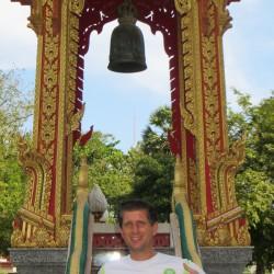 Auch in Asien unterwegs - hier ein Eschathlet auf dem Nakkerd Hill im Süden Phukets