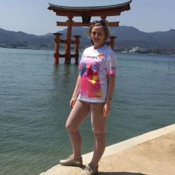 Eschathlon am schwimmenden Tor - The Great Torii, Miyajima Island, Japan