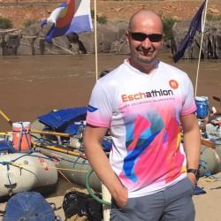 Das Eschathlon-Shirt beim Rafting auf dem Colorado River im Südwesten Nordamerikas