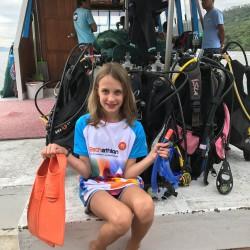 Der Eschathlon-Nachwuchs in Manado auf Sulawesi/Indonesien