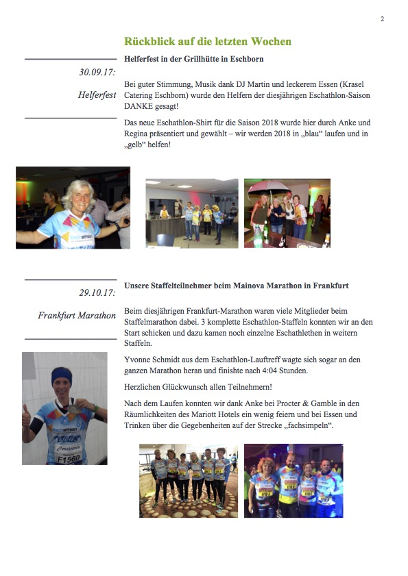 Newsletter Eschathlon November 2017 Seite2