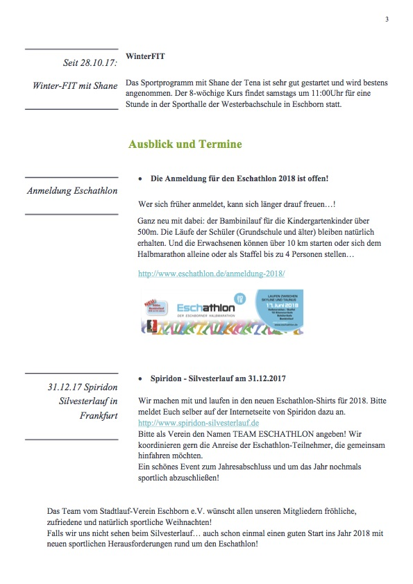Newsletter Eschathlon November 2017 Seite3