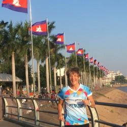 Und auch in Kambodscha wurde das Shirt entdeckt...